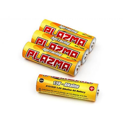 Baterie alkaliczne 1,5V AA LR6 4szt. PLAZMA