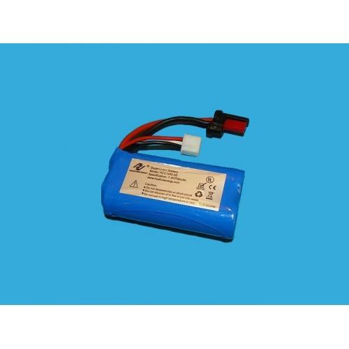Pakiet napędowy Li-Ion 650mAh 7,4V do FX059