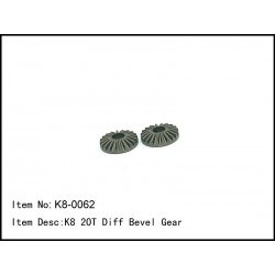 CASTER RACING K8 20T Diff...
