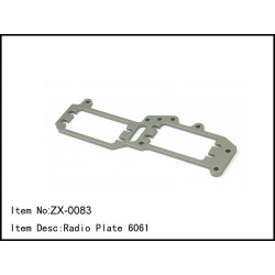 CASTER RACING Radio Plate 6061