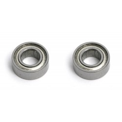 Bearings, 4 X 8 X 3mm, rubber sealed