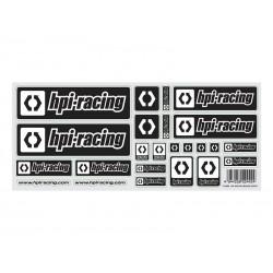 HPI RACING RACING (BLACK) LOGO