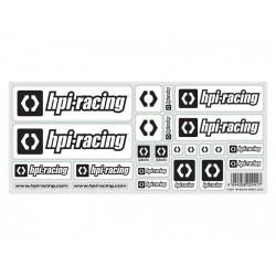 HPI RACING RACING (WHITE) LOGO