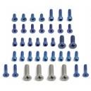 FT Blue Aluminum Screw Kit, RC12L3/L3 Oval
