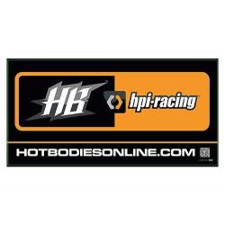 HPI RACING HB BANNER 2011...