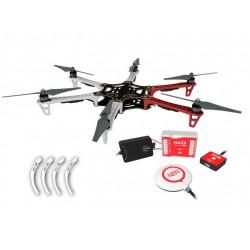 Dron Hexacopter F550 + E305...