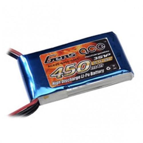 Akumulator LiPo 11,1V 450mAh 25C 3S JST #25C-450-3S1P