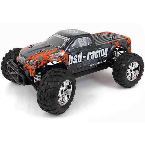 Monster Truck 1/10 4WD RTR - Pomarańczowy