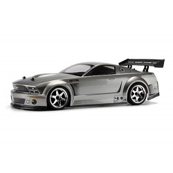 FORD MUSTANG GT-R BODY (PAINTED/GUNMETAL/200mm)
