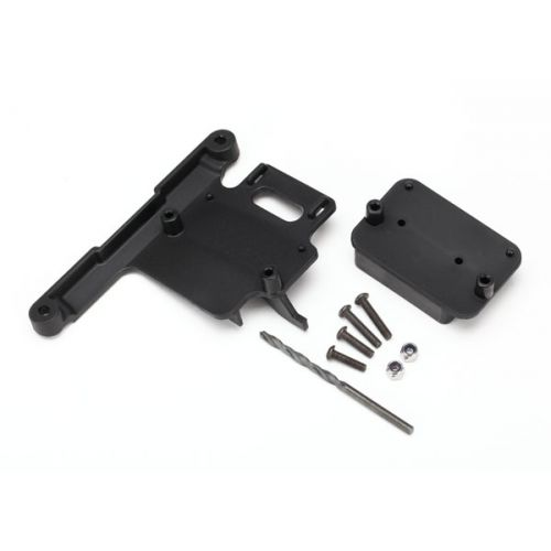 Mount, telemetry expander (fits Rustler, Bandit, Slash 2WD)