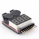 Alarm Buzzer LiPo / Li-Ion / LiMn / Li-Fe 1-8S (Magazyn 2)