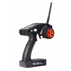 RADIOLINK Aparatura RC4G 4CH 2.4GHz + ŻYROSKOP + Podświetlany LCD