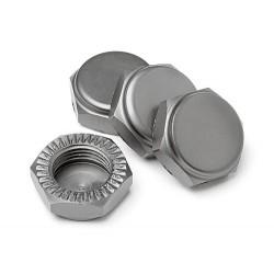 Closed Locking Wheel Nuts (4 pcs)