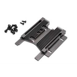 HD HEATSINK MOTOR PLATE 10mm (7075S/GRAY)