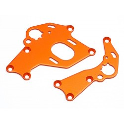 MOTOR MOUNT SET (LEFT/RIGHT/ORANGE)