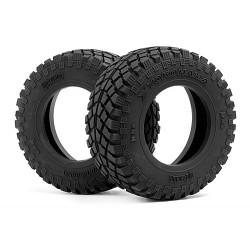 YOKOHAMA GEOLANDAR TIRES D COMPOUND (2pcs)