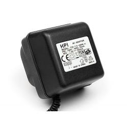 OVERNIGHT CHARGER FOR 6.0V RECEIVER BATTERY (EU3PIN/230V, FUTABA PLUG)