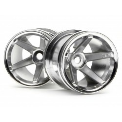 SUPER STAR MT WHEELS CHROME (REAR/DEEP OFFSET)