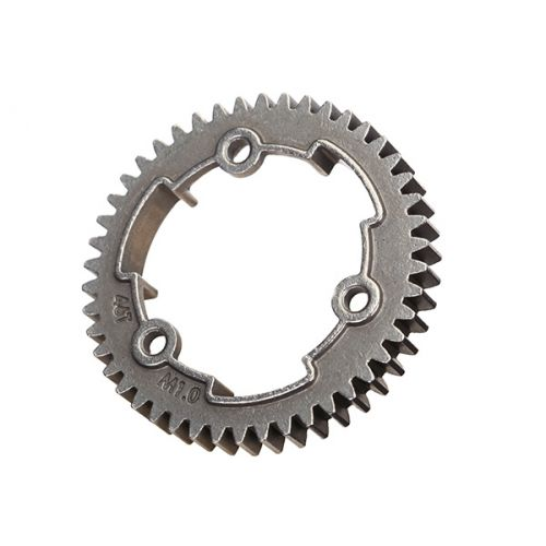 Zębatka 46T / Spur gear, 46-tooth, steel (1.0 metric pitch) X-Maxx, XO-1