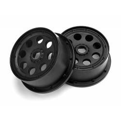 OUTLAW WHEEL BLACK (120x60mm/-4mm OFFSET/2pcs)
