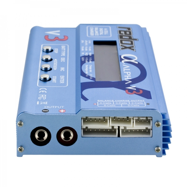Ładowarka REDOX ALPHA V3 COMBO 5A z zasilaczem 230V