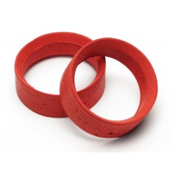 PRO MOLDED INNER FOAM 24MM (RED/MEDIUM SOFT)