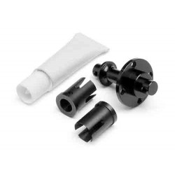FRONT SOLID AXLE SET Ver.3 (BLACK)