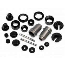 ALUMINUM SHOCK SET (BLACK/2PCS)