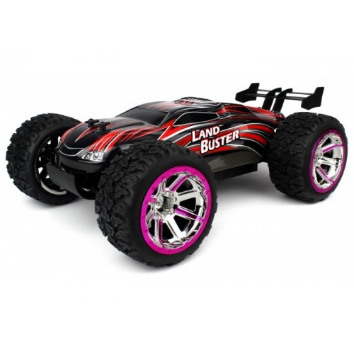 Auto LAND BUSTER - Monster Truck 4WD 1/12 (Czerwony)