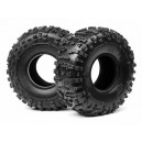 HB ROVER TIRE (BLUE/ROCK CRAWLER)