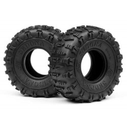 HB SEDONA TIRE (White/Rock Crawler/2pcs)