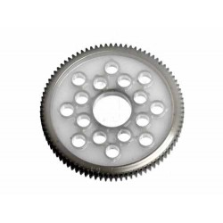 HB RACING SPUR GEAR 87 TOOTH (DELRIN/64PITCH)
