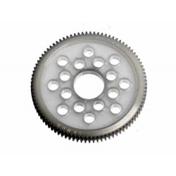 HB RACING SPUR GEAR 89 TOOTH (DELRIN/64PITCH)