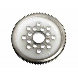 HB RACING SPUR GEAR 107 TOOTH (POM/64PITCH)