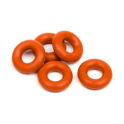 SILICON O-RING P-3 (RED) (5 pcs)