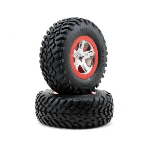 Koła 2szt. / SCT Wheels, ultra-soft S1 compound Tires