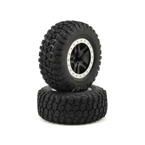 Koła 2szt. / SCT Split-Spoke Wheels, BFGoodrich Mud-Terrain T/A KM2 Tires