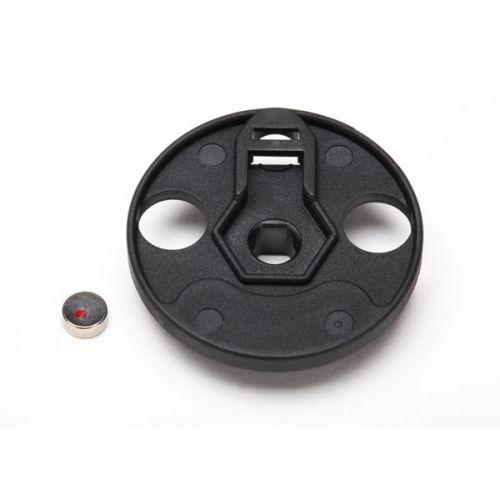 Mocowanie magnesu / Telemetry trigger magnet holder 5x2mm