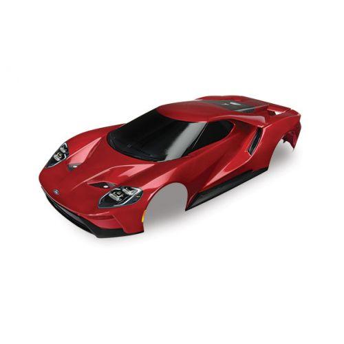 Karoseria Ford GT 1/10 (czerwona)