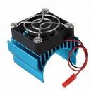 Radiator z wentylatorem na silniki klasy 540-550 (niebieski)