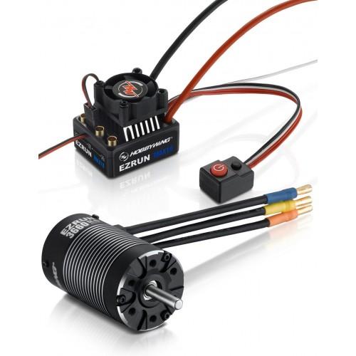 Zestaw napędowy Ezrun Max10 2-3S 3652SL 4000kV G2 (38010204)