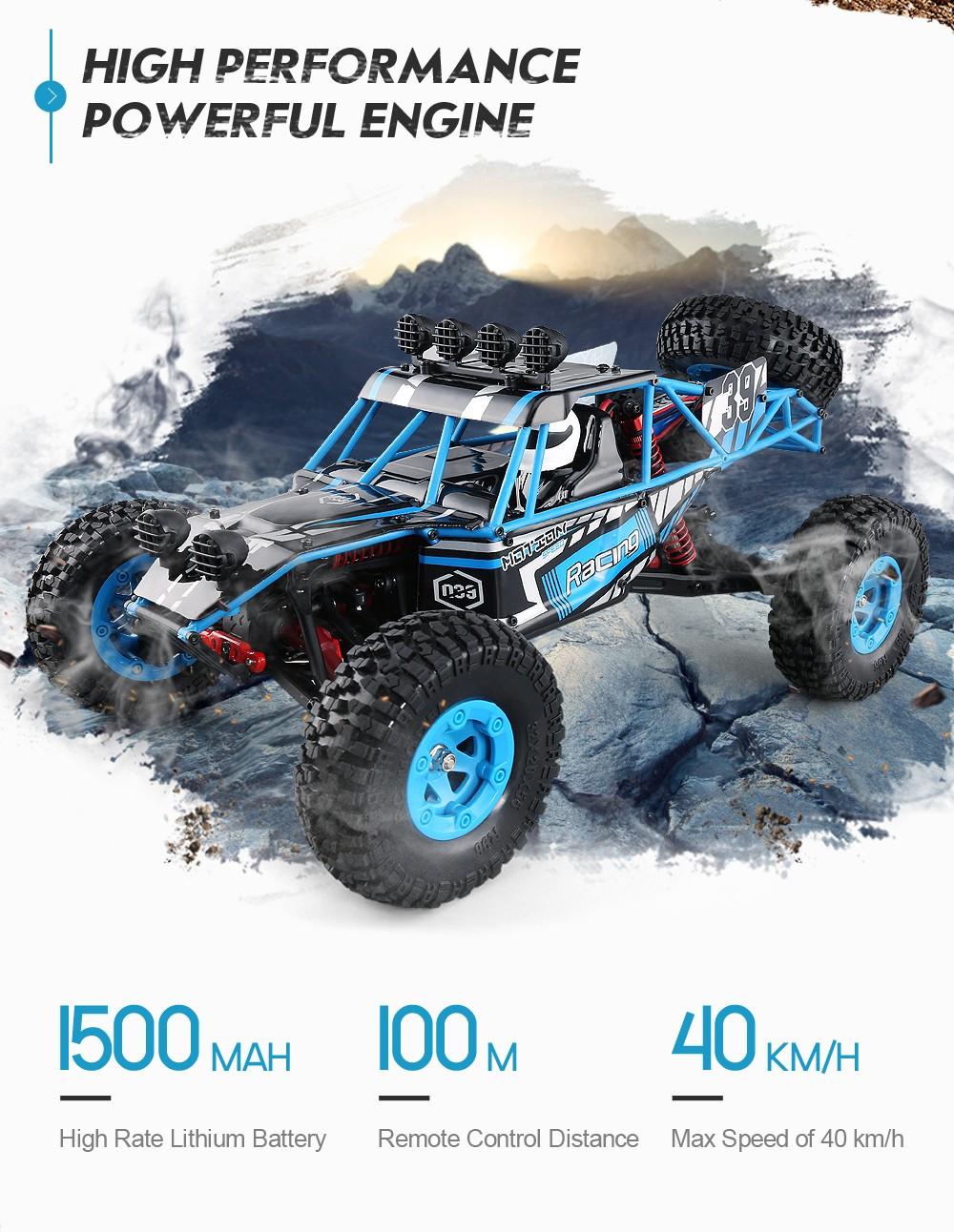 JJRC Q39 HIGHLANDER 1:12 4WD