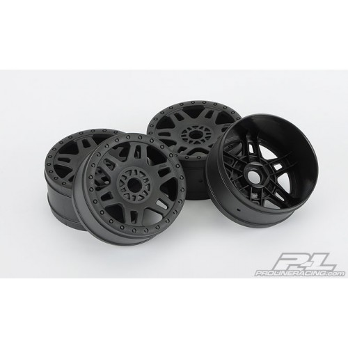 Felgi 4szt. Buggy 1:8 - Split Six V2 Black (2724-03)