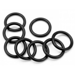O-RING S9 (8.5X1.5MM/BLACK/8PCS)
