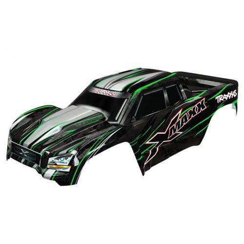Karoseria pomalowana / Body Green do X-MAXX (Zielona)