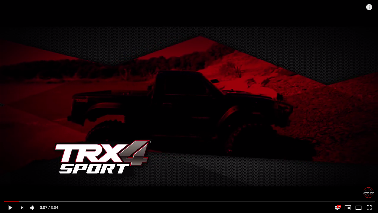 TRX-4 Sport 1/10 Scale 4x4 Trail Truck - Video