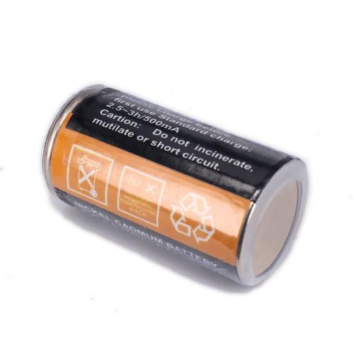 Akumulator / ogniwo 1800mAh NiCd 2/3A klipsa do świec
