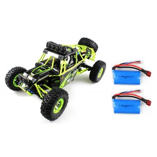 Auto Across Crawler 1/12 4x4 + Oświetlenie LED + 2x aku (12428)