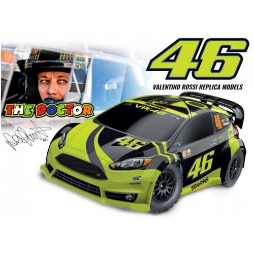 Auto Ford Fiesta ST Rally 4WD 1/10 - Valentino Rossi
