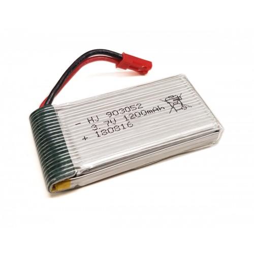 Akumulator LiPo 1200mAh 3,7V 1S BEC do X56W-P